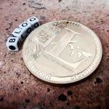 Litecoin-Blogkonzept Stockfotografie