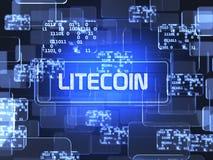 Litecoin Cryptocurrency Бесплатная Иллюстрация