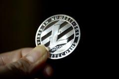 Litecoins coin stock photo