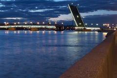 Litejnyj Brücke Lizenzfreies Stockfoto