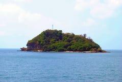 liten ö Royaltyfri Bild