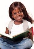 Liten afrikansk skolaflicka Arkivfoto