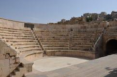 Liten amfiteater, Amman Royaltyfri Foto