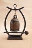 liten asiatisk gong Fotografering för Bildbyråer