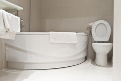 liten badrum Royaltyfri Foto