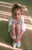 liten ballerina Arkivfoton