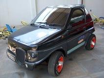 Liten bil för två seater på Sudha Cars Museum, Hyderabad Royaltyfria Foton