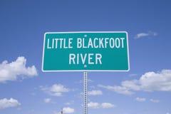 Liten Blackfoot flod Royaltyfri Bild