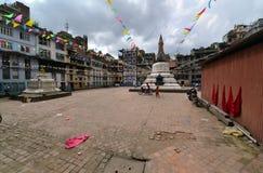 Liten buddistisk stupainKathmandu, Nepal Arkivbild