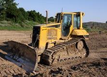 liten bulldozer Arkivbild