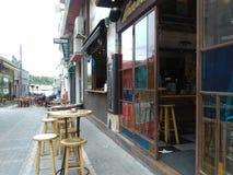 liten cafe Royaltyfria Bilder