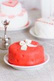 Liten cake Royaltyfria Bilder