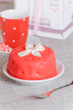 Liten cake Royaltyfri Foto