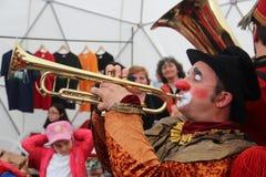 Liten cirkus på B-passformen 2014 Fotografering för Bildbyråer