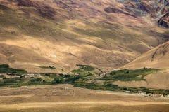 Liten dal i Zanskar Royaltyfria Bilder
