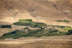 Liten dal i Zanskar Fotografering för Bildbyråer