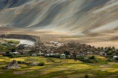 Liten dal i Zanskar Royaltyfria Foton