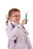 liten doktor fotografering för bildbyråer
