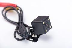 Liten dold kameraparkering för kub spion royaltyfria foton