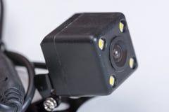 Liten dold kameraparkering för kub spion royaltyfria bilder