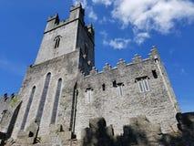 Liten domkyrka i Nenagh, Irland Arkivbild