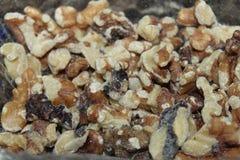 Liten efterrätt som snacking, äta för mellanmål som är sunt Arkivbild