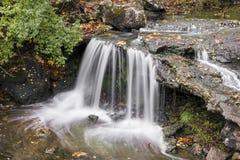 Liten Englewood vattenfall arkivbilder