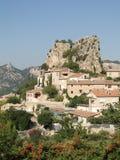 liten by för fransk back Royaltyfri Fotografi