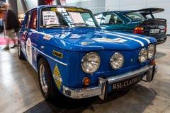 Liten familjebil Renault R8 Gordini som sportbilen, 1967 Arkivbilder