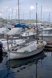 liten fartygsegling Fotografering för Bildbyråer