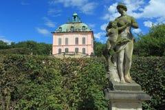 Liten fasanslott i Moritzburg Arkivbild