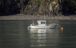Liten fiskebåt Fotografering för Bildbyråer
