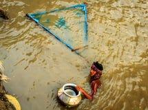 Liten fiskstoppare Fotografering för Bildbyråer