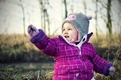 liten flicka Royaltyfri Foto