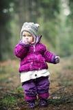 liten flicka Royaltyfri Fotografi