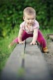 liten flicka Arkivfoto
