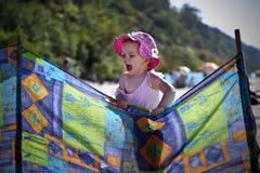liten flicka Arkivfoton