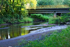 liten flod Royaltyfria Bilder