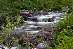 liten flod Royaltyfri Fotografi