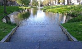 liten flod Arkivfoton