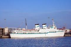 liten gammal ship för kryssning Fotografering för Bildbyråer
