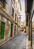 Liten gata i Gibraltar royaltyfri fotografi
