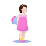 liten girl3 Royaltyfri Fotografi