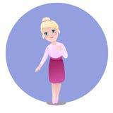 liten girl3 Arkivfoton