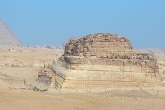 liten giza pyramid Arkivbilder