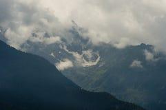 liten glaciär Royaltyfri Fotografi