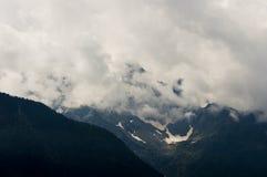 liten glaciär Arkivbilder