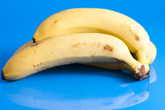 Liten grupp av mogna bananer Arkivfoton