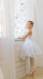 Liten gullig ballerina ballerina Royaltyfri Bild