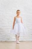 Liten gullig ballerina ballerina Arkivbild